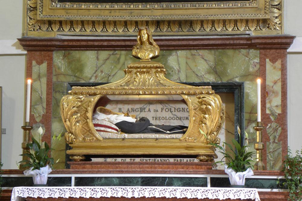 Sant'Angela da Foligno, Mistica