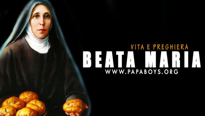 Beata Maria di Gesù: vita e preghiera