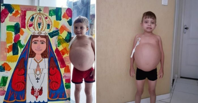 La storia del piccolo Daniel Neves