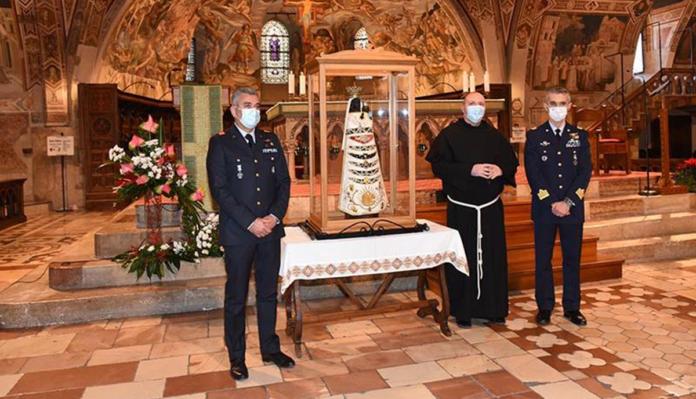 La Madonna di Loreto ad Assisi