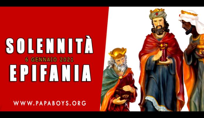 Solennità dell'Epifania: festa e preghiera