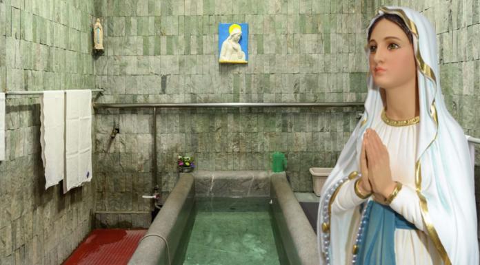 Le parole della Madonna di Lourdes