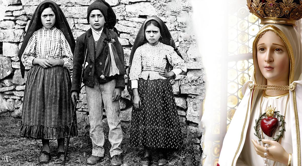 Le prime parole della Madonna di Fatima