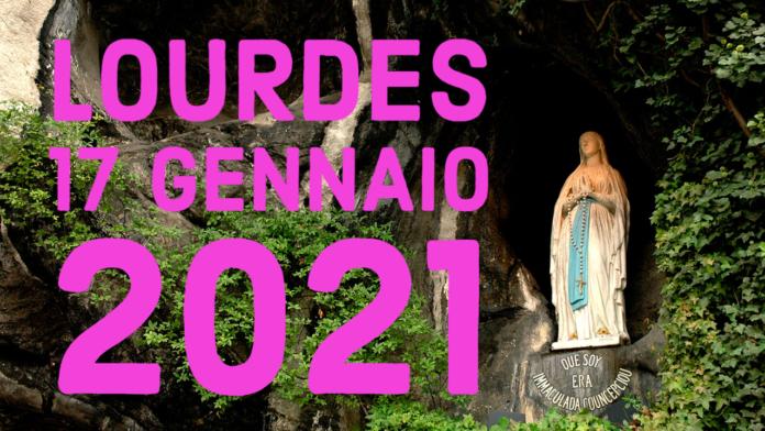 Santo ROSARIO dalla Grotta delle Apparizioni di Lourdes. Domenica 17 gennaio 2021. LIVE TV dalle h. 23.15