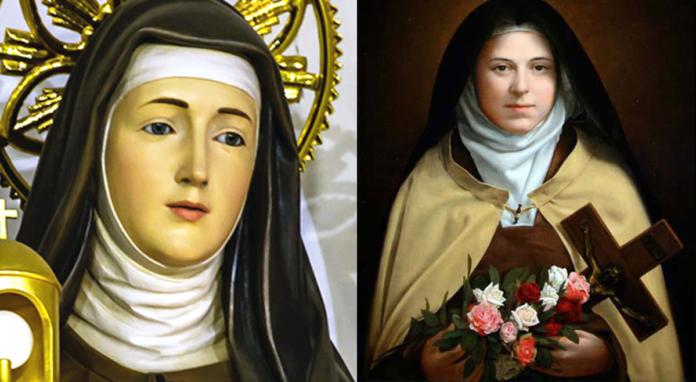 Preghiera a Santa Teresina e Santa Chiara