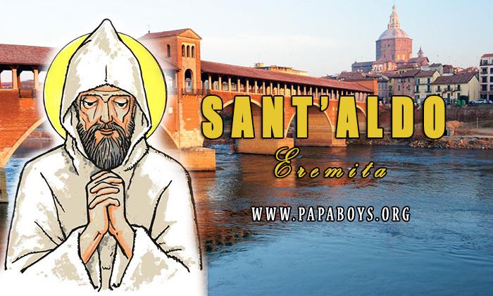 Sant'Aldo, eremita: vita e preghiera