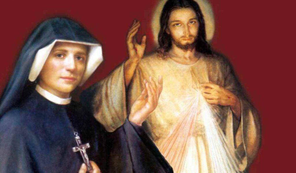 Santa Faustina ed il Gesù della Misericordia