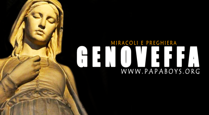 Santa Genoveffa, Vergine