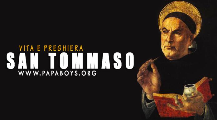 San Tommaso d'Aquino: vita e preghiera