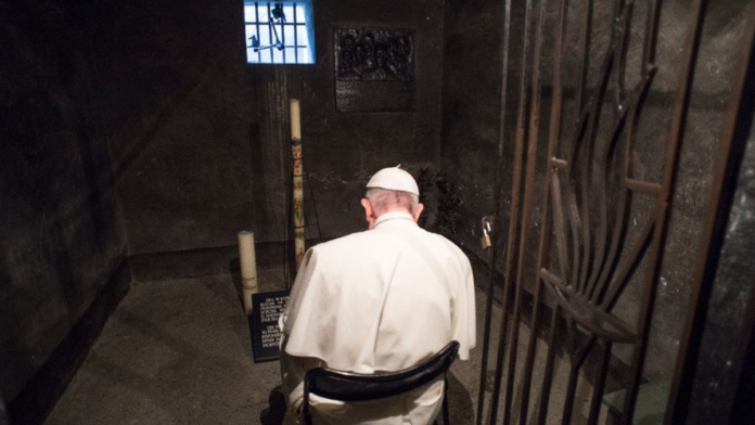 Papa Francesco ricorda la Shoah