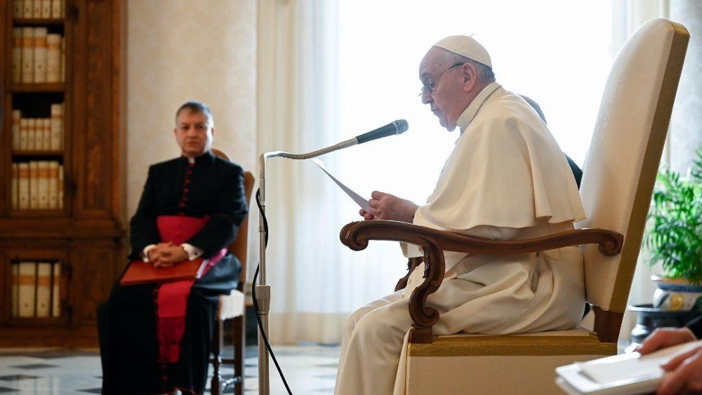 Papa Francesco, udienza generale (13 Gennaio 2021)