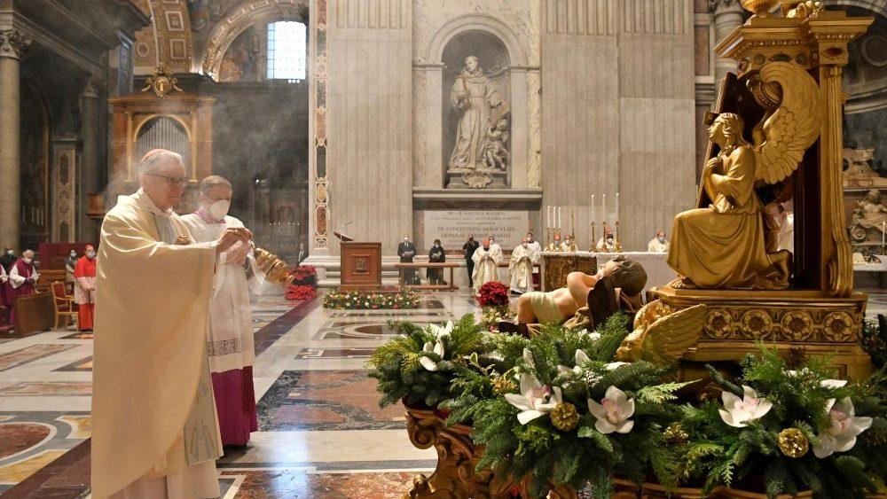 Papa Francesco: la prima messa dell'anno