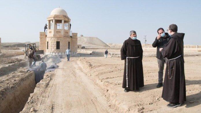 Il luogo del Battesimo di Gesù, in Terra Santa, per mano di Giovanni il Battista