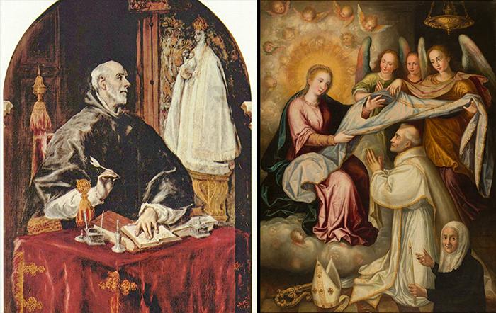 Sant'Ildefonso da Toledo: miracolo e preghiera
