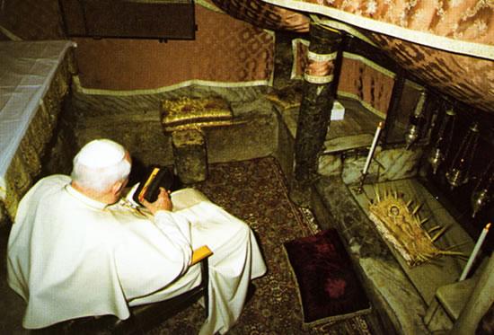 Pellegrinaggio in Terra Santa di Giovanni Paolo II