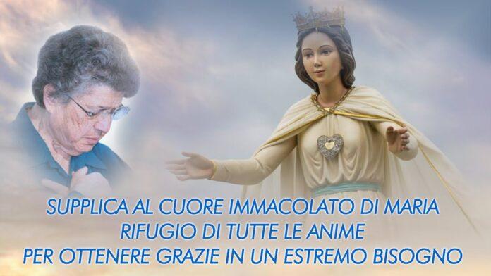 La supplica che Mamma Natuzza recitava ogni sera alla Madonna