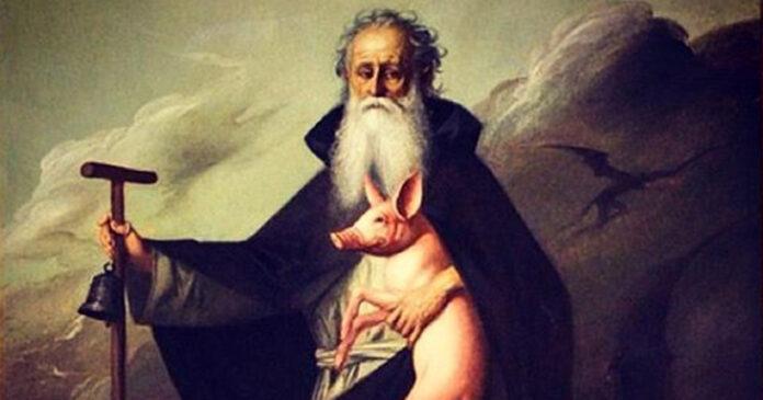 Questa domenica è la festa di Sant'Antonio, abate