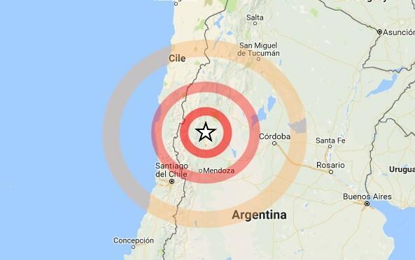 Terremoto, forte scossa in Argentina