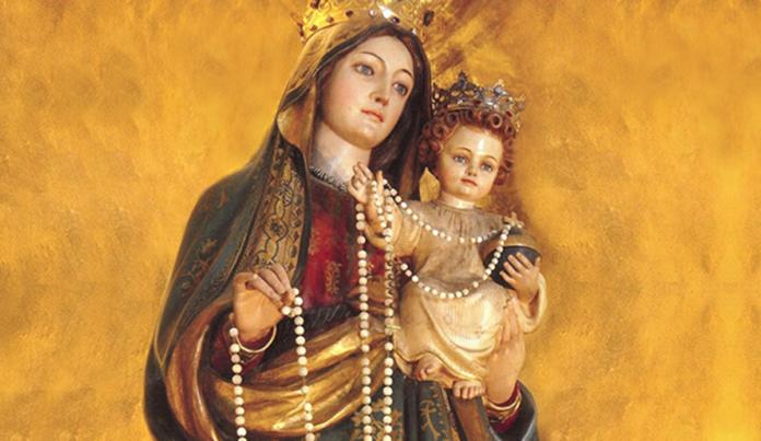 Supplica potente per invocare l'aiuto della Vergine del Rosario