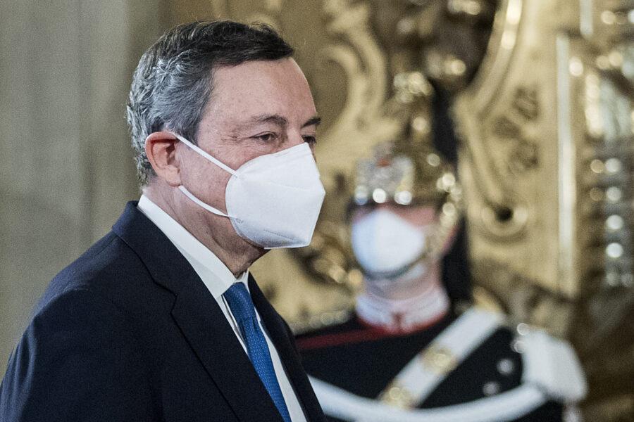 Mario Draghi ha giurato come presidente del Consiglio