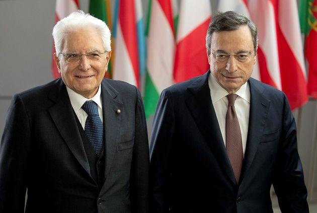 Mattarella convoca Draghi