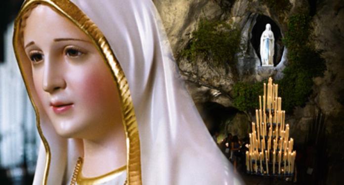 Lourdes: la terza apparizione della Vergine Maria