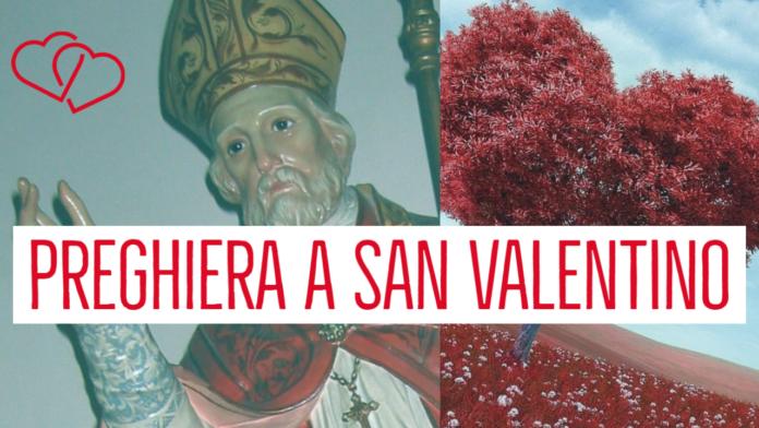 preghiera a san valentino