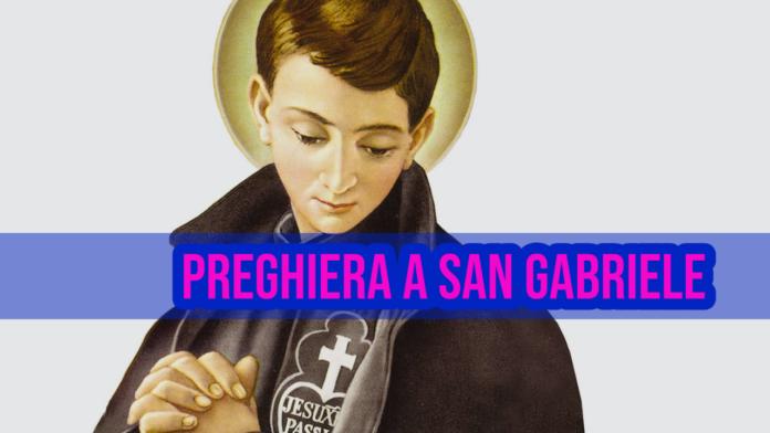 Invoca oggi, 27 febbraio 2021, San Gabriele dell'Addolorata
