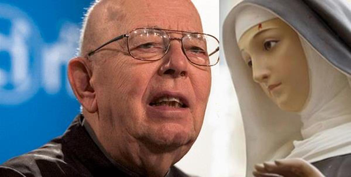 Padre Gabriele Amorth e l'invocazione a San Michele