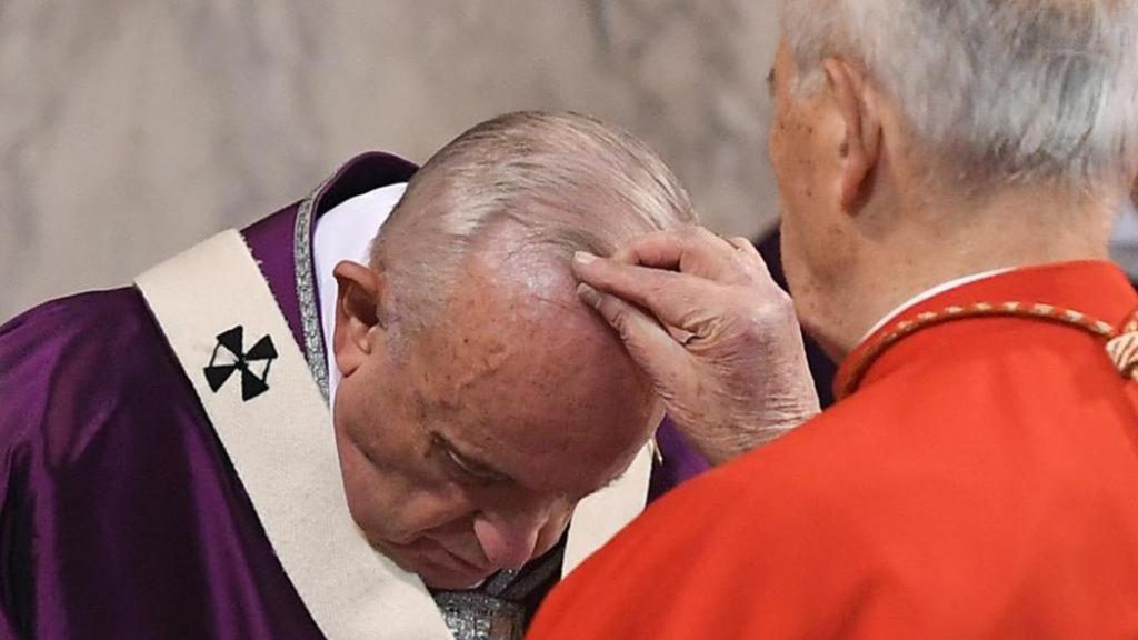 Il Mercoledì delle Ceneri 2021 con Papa Francesco
