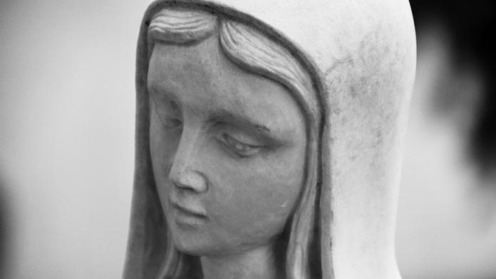 Gabrielle guarii in Algeria grazia alla Vergine di Lourdes