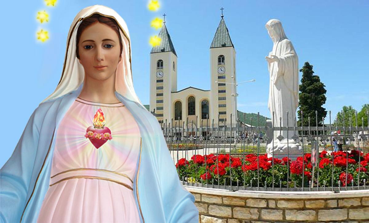 Medjugorje. Messaggi e Preghiera alla Sposa dello Spirito Santo per oggi, 1 Aprile 2021