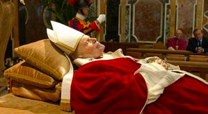 La preghiera a Giovanni Paolo II