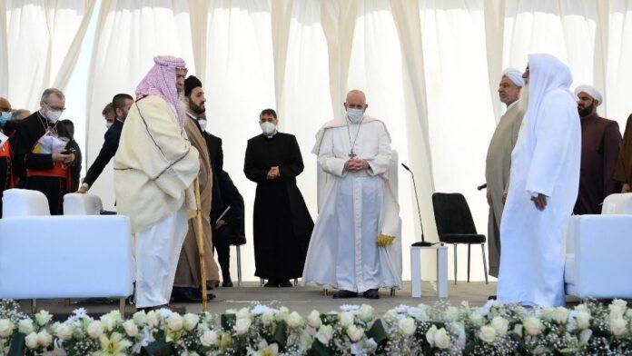 incontro interreligioso nella Piana di Ur dei Caldei