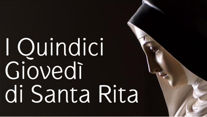 Oggi è il 5° dei 15 giovedì di Santa Rita da Cascia