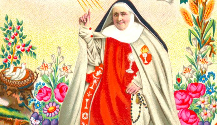 Madre Serafina e la sua preghiera per la pace a Gesù