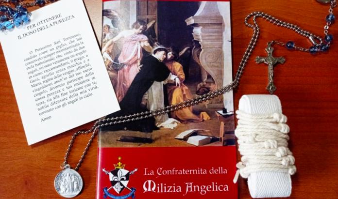 Milizia Angelica - Foto da Facebook - Amici della Milizia Angelica di San Tommaso d'Aquino - Confraternita