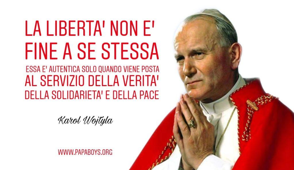 Giovanni Paolo II, dal Cielo intercedi per me!