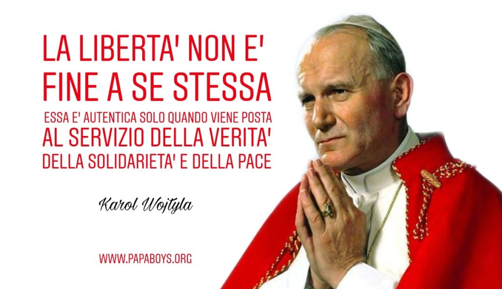 W San Giovanni Paolo II! Chiedi una grazia al santo papa oggi, 15 Aprile 2021