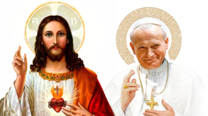San Giovanni Paolo II prega per le nostre famiglie