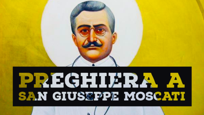 Preghiera a San Giuseppe Moscati
