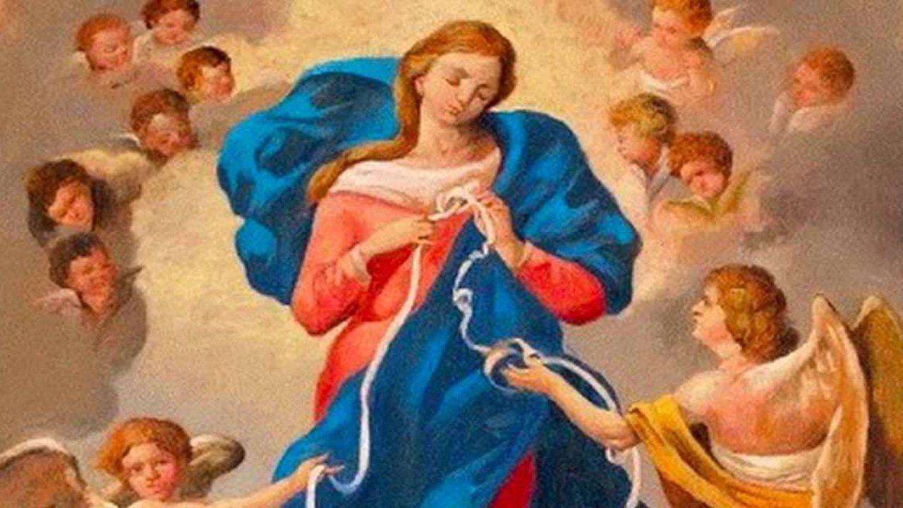 Supplica per risolvere i 'casi impossibili' a Maria che scioglie i nodi