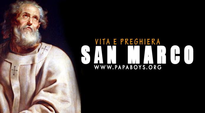 San Marco, Evangelista. Vita e Preghiera