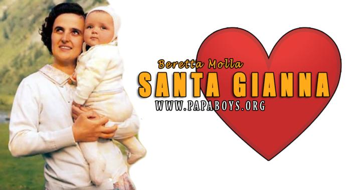 Santa Gianna Beretta Molla, Madre di Famiglia