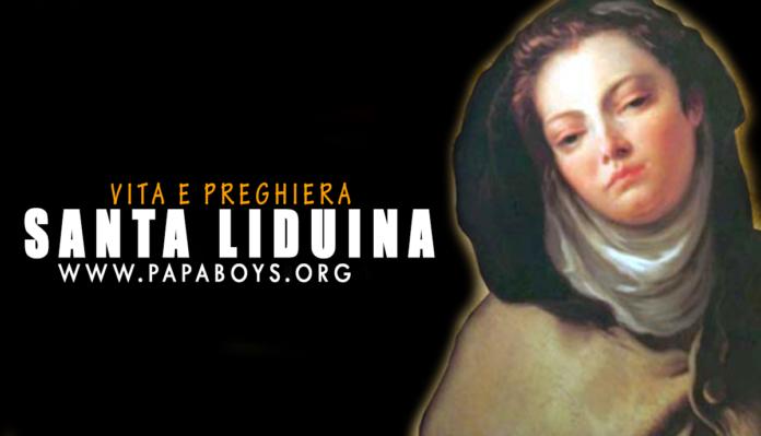 Santa Liduina, vergine e mistica