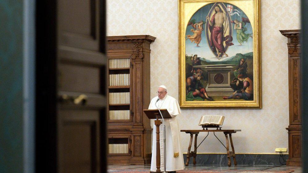 Papa Francesco Regina Coeli di oggi