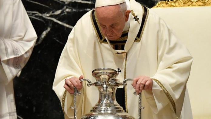 Papa Francesco, messa del 1° Aprile 2021