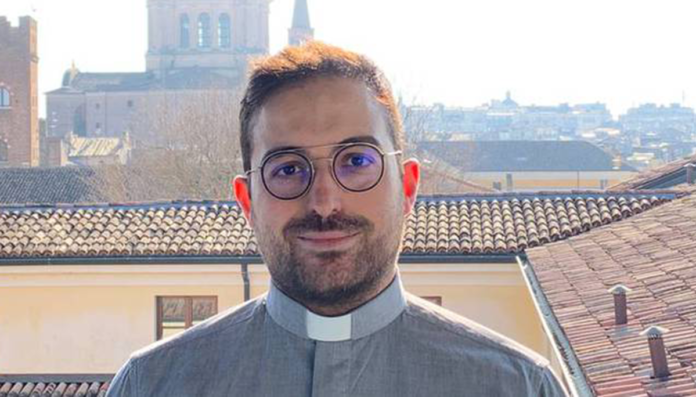Francesco Freddi vuole diventare sacerdote
