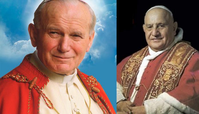 Chiedi una grazia a Giovanni XXIII e Giovanni Paolo II