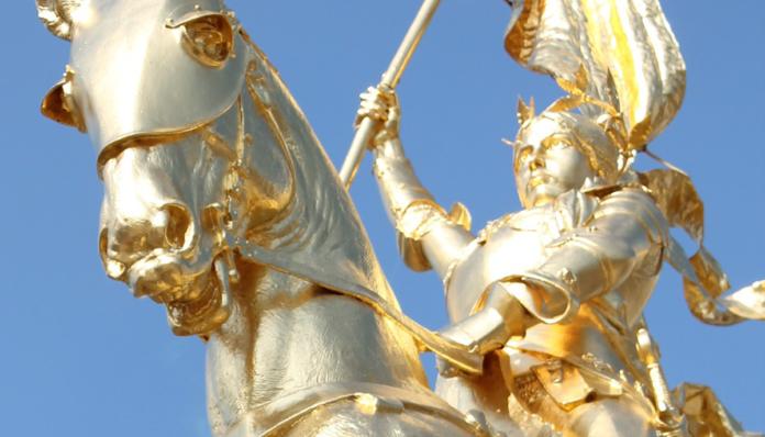 Santa Giovanna d'Arco veniva beatificata il 18 Aprile